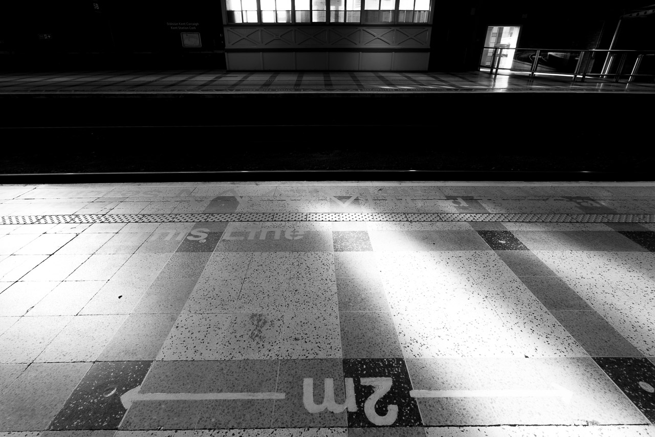 2m at the train station