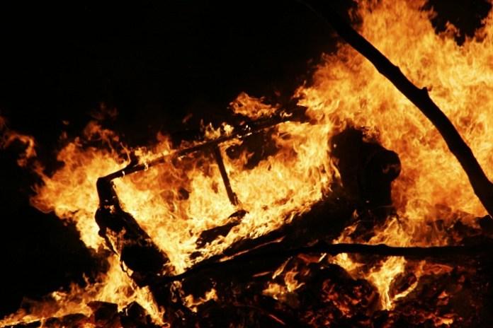 Sofa Burning