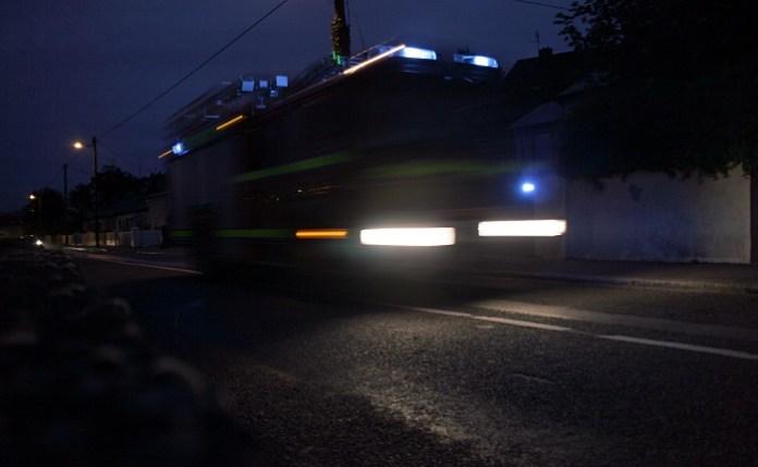 Fire Brigade arrive