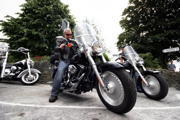 Harleys in Blarney