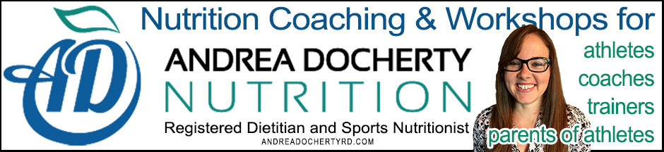 Andrea Docherty Registered Dietitian and Sports Nutritionist