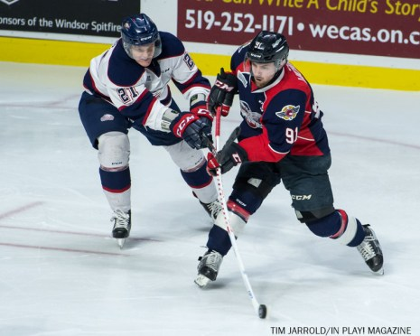 Spitfires vs Saginaw Spirit 11