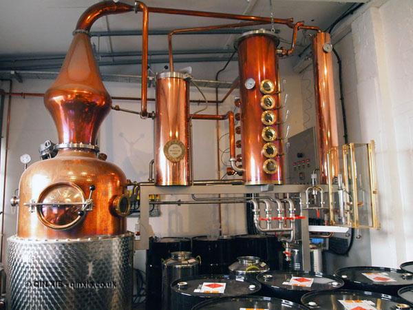 Prudence still at Sipsmiths Distillery