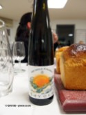 Nivole Moscato d'Asti with brioche, dessert and wine matching at Leiths School of Food and Wine