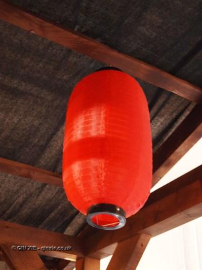 Lantern at Kirin Ichiban Yatai