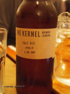The Kernel's Apollo pale ale at Charles Lamb
