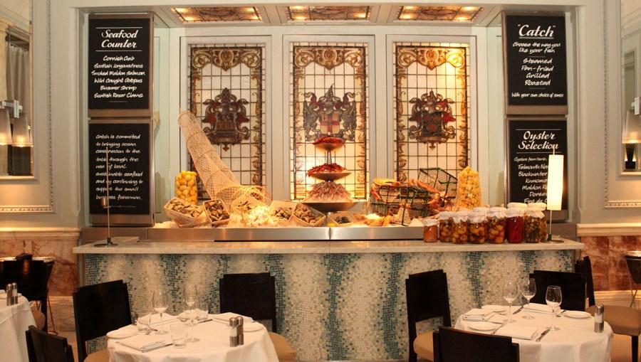 Catch Restaurant, Andaz Hotel, Liverpool Street