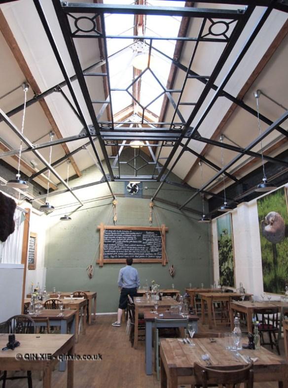 Inside River Cottage Axminster