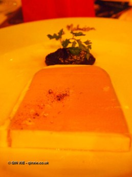 Chicken liver parfait on Christmas Celebration Menu at Malmaison, London