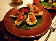 Deep fried Maldon oysters at Patara, Greek Street