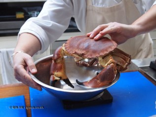 Crab at Fish in a Day, Food Safari