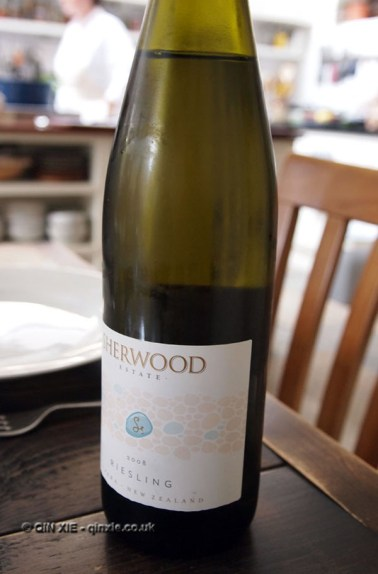 Sherwood Estate Riesling at Fish in a Day, Food Safari