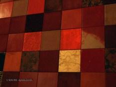 Leather panels at Dego, London