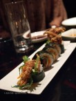 Dragon roll, sushi making at Ichi Sushi and Sashimi Bar