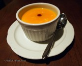 Lychee and mango custard at Chinese Cricket Club