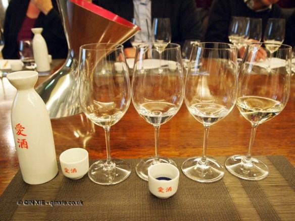 sake sommelier at Harrods wine shop