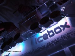 Ice bar Massimo Bottura Lavazza antipasto at the World's 50 Best Restaurants 2012