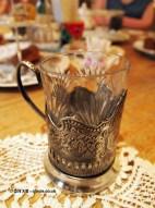 Tea tankard, Afternoon Tea at Mari Vanna, Knightsbridge