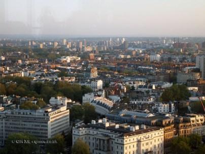 View at Galvin at Windows bar, Hilton Park Lane