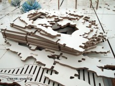Table jigsaw, British night, Global Feast 2012