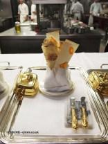 Mini pan bagna close up, 25th Anniversary Celebration Menu at Alain Ducasse's Le Louis XV in Monte Carlo, Monaco