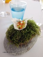 Rice crisp and vegetable tartare, Mirazur, Menton