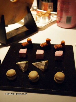 Petit fours, Champagne Duval-Leroy lunch at The Greenhouse, Mayfair
