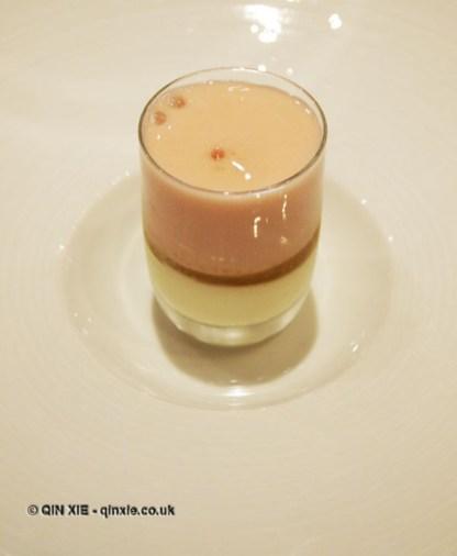 Fruit pre-dessert, Phil Howard's The Square, Mayfair