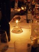 Tea light, Pays d'Oc dinner at Gauthier Soho