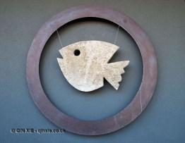Fish sign, Ristorante Al Metrò, Abruzzo