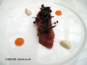 Lamb, garlic and grapefruit, Ristorante Reale, Abruzzo