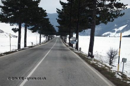 Long road to Ristorante Reale, Abruzzo