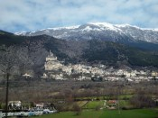 Mountain village, Abruzzo