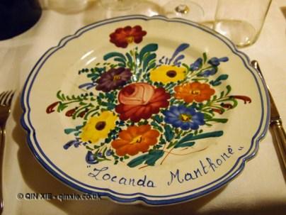 Plate, Locanda Manthone, Abruzzo