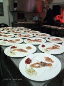 Seafood crudité at pass, Ristorante Beccaceci, Abruzzo