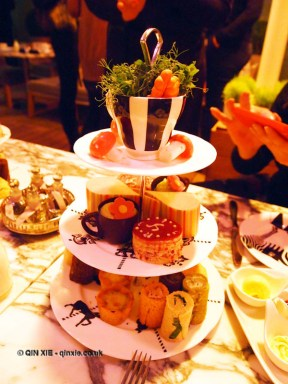 Three tier platter, Mad Hatters Tea Party, Sanderson