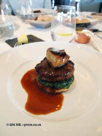 Fillet of Cumbrian beef 'Rossini' foie gras & truffle, Galvin at Windows, London