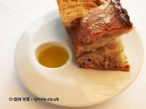 Bread and olive oil, Arzak, San Sebastian