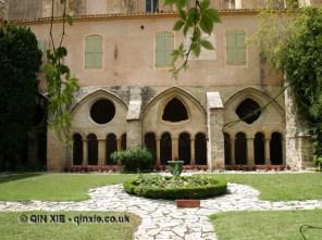 Courtyard, Abbaye de Valmagne, Villeveyrac