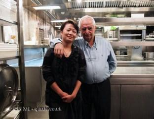 Qin Xie and Juan Mari Arzak, San Sebastian
