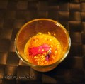 Angelica posset with sea buckthorn and bee pollen, foraging with Sami Tallberg, Helsinki