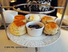 Scones, Christmas Afternoon Tea at Wellington Lounge