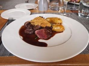 Bravette steak, Domaine Gayda, Brugairolles