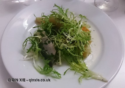 Pickled mackerel, Rochelle Canteen, Greater Arnold Circus