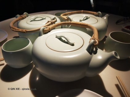 Tea - Silver Needle, Dragon's Well Green Tea, Phoenix Shui Xian, Chinese New Year at Yauatcha, London
