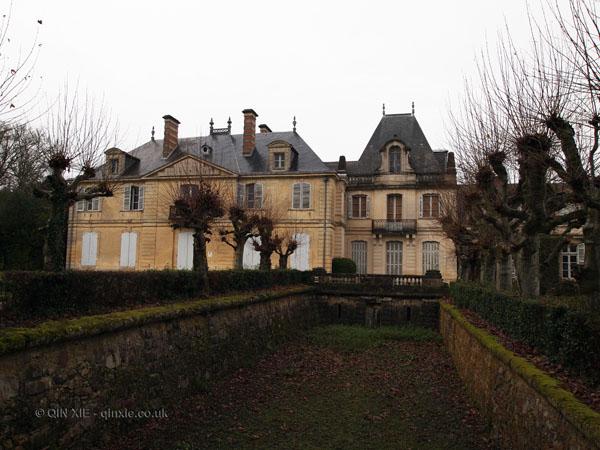 Back of house, Château Tiregand, Bergerac