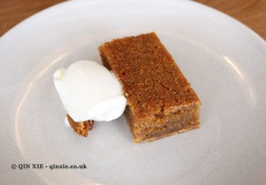 Treacle Tart & Milk Ice Cream, Lyle's, London