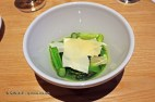Grilled asparagus, dried yoghurt and poultargue, Spritmuseum, Stockholm
