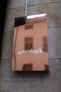Logo plaque, Gastrologik, Stockholm