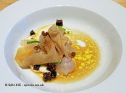 Pike perch and kohl rabi, Spritmuseum, Stockholm